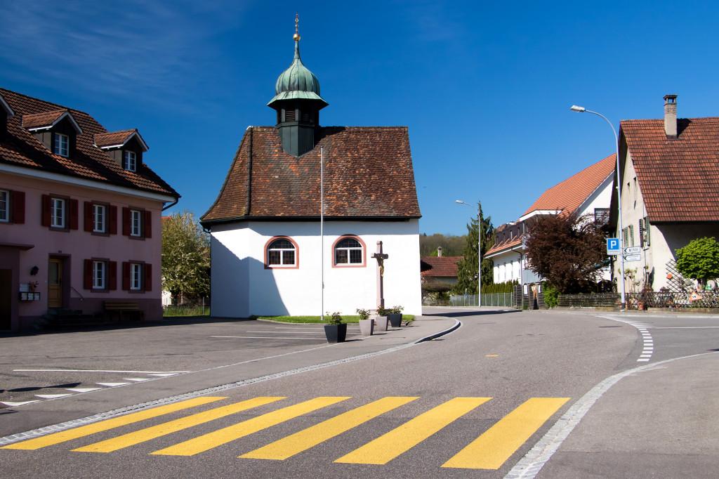 Die Sebastianskapelle von Wallbach, erbaut um 1700