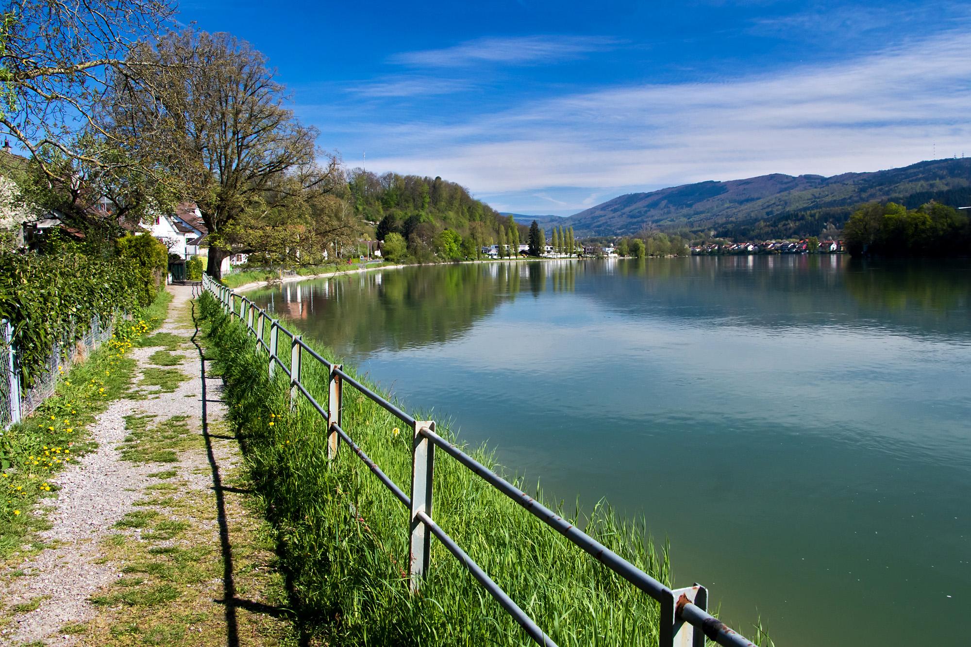 Der Rhein bei Wallbach, AG