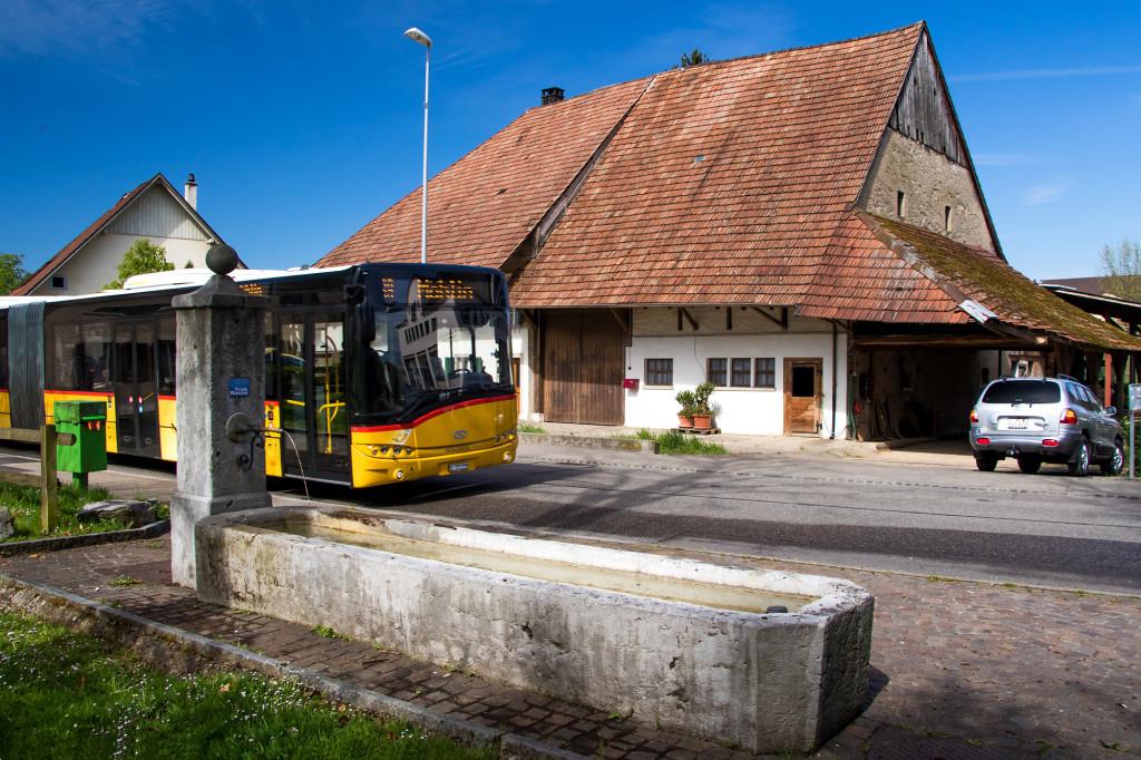 Historischer Dorfkern von Möhlin