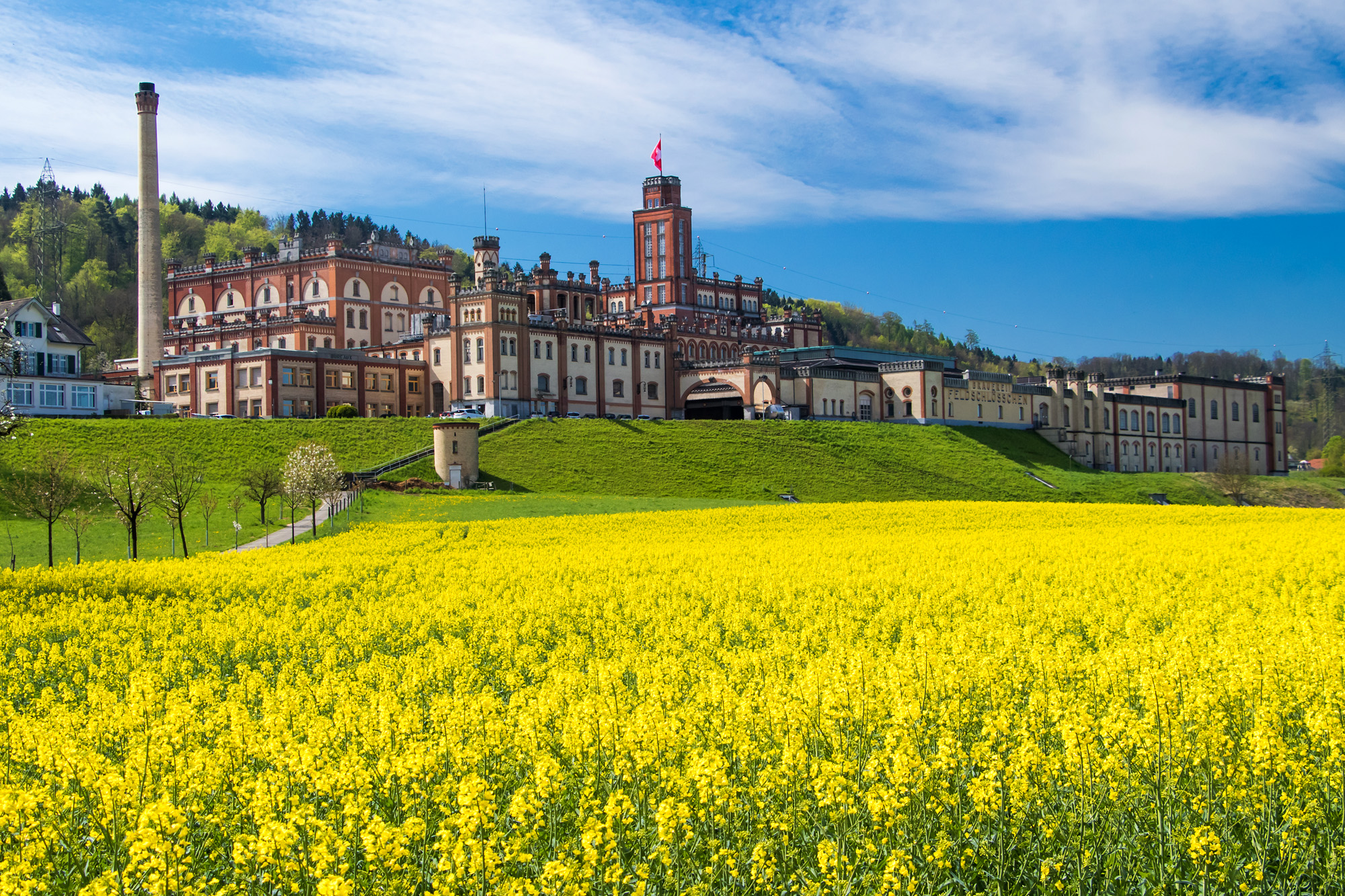 Das Feldschlösschen-Schloss Rheinfelden