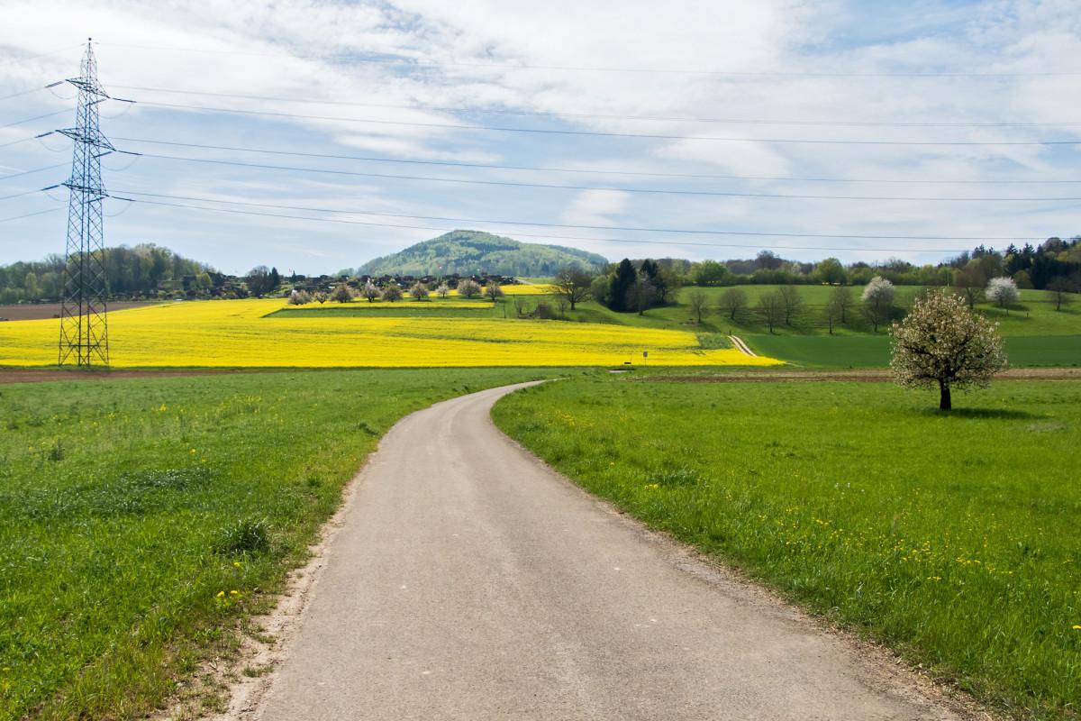 Über Feld und Flur von Augst nach Liestal