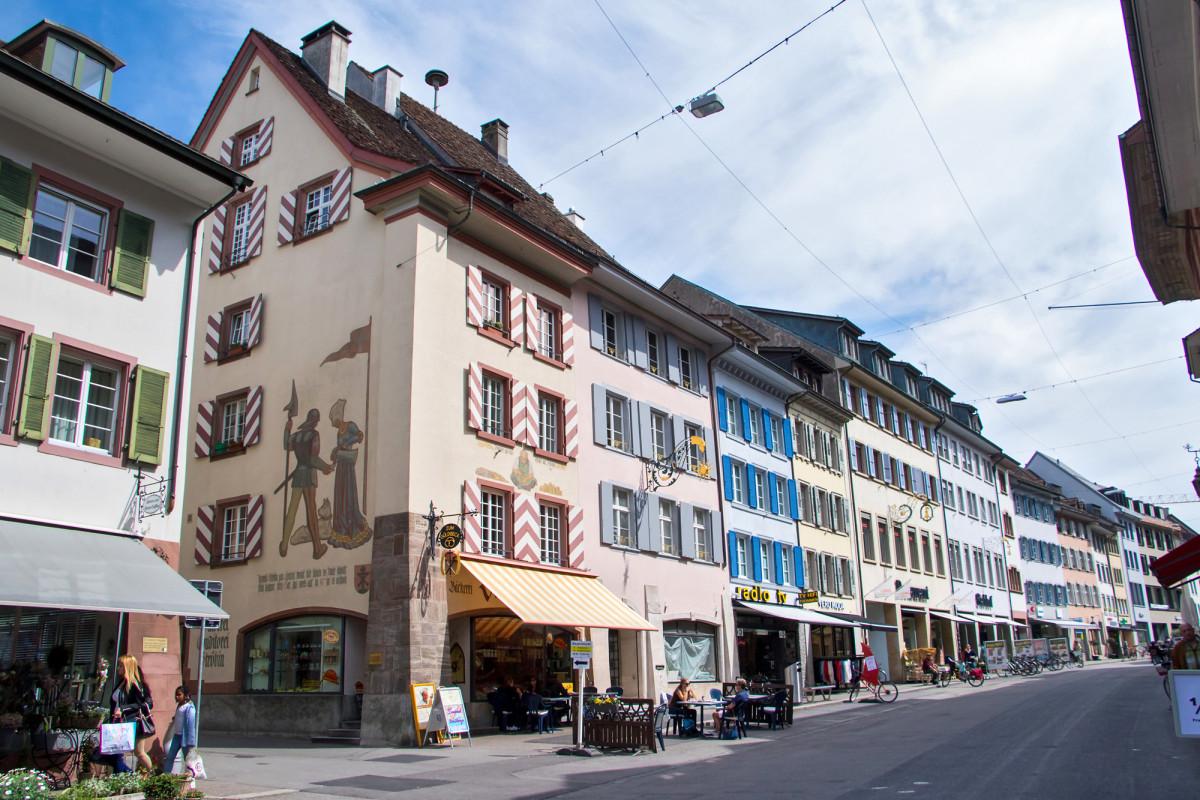 Rathausstrasse in Liestal BL