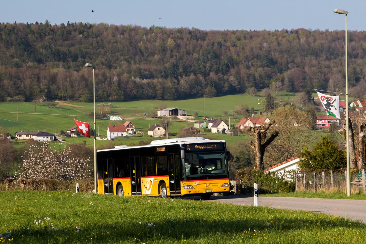 Citaro in Roggenburg, BL