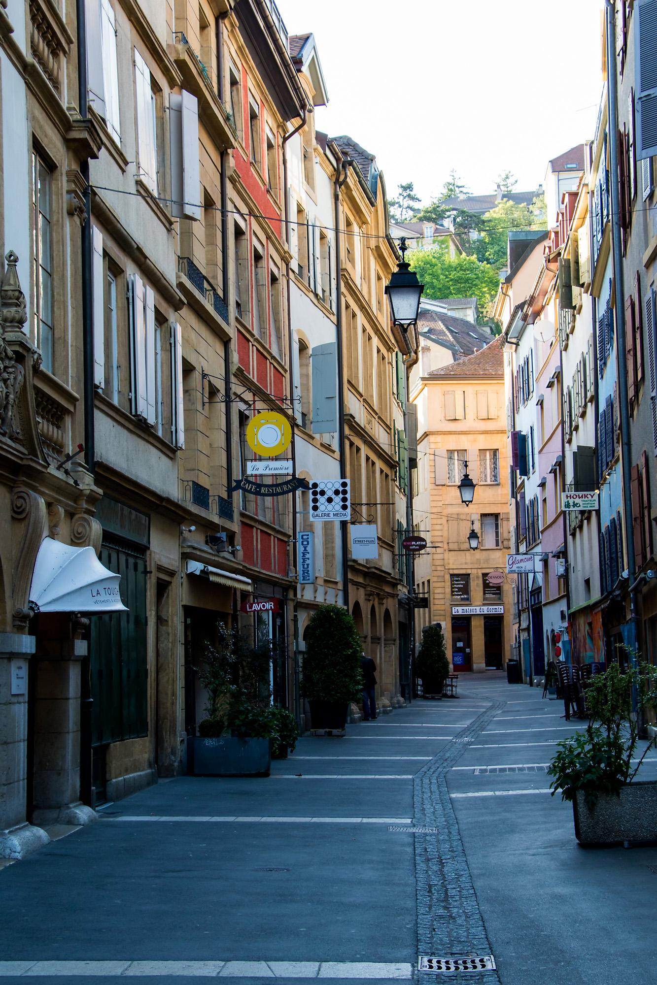 Die Altstadt präsentiert sich durchaus stilvoll