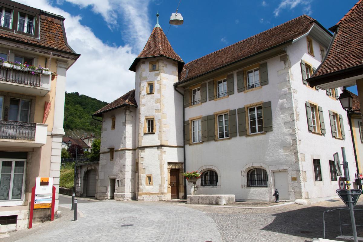 Maison de Gléresse am Nordrand von La Neuveville