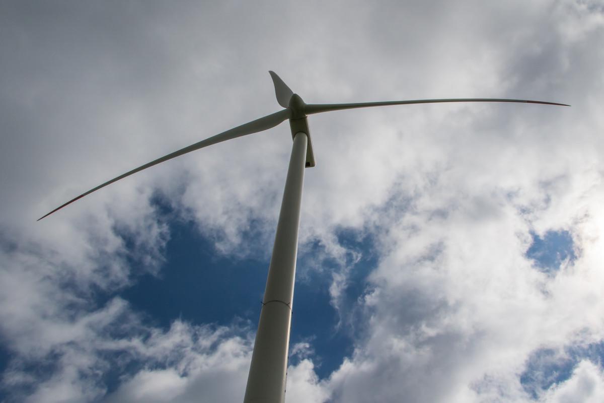 Ganz schön hoch, diese Windräder!