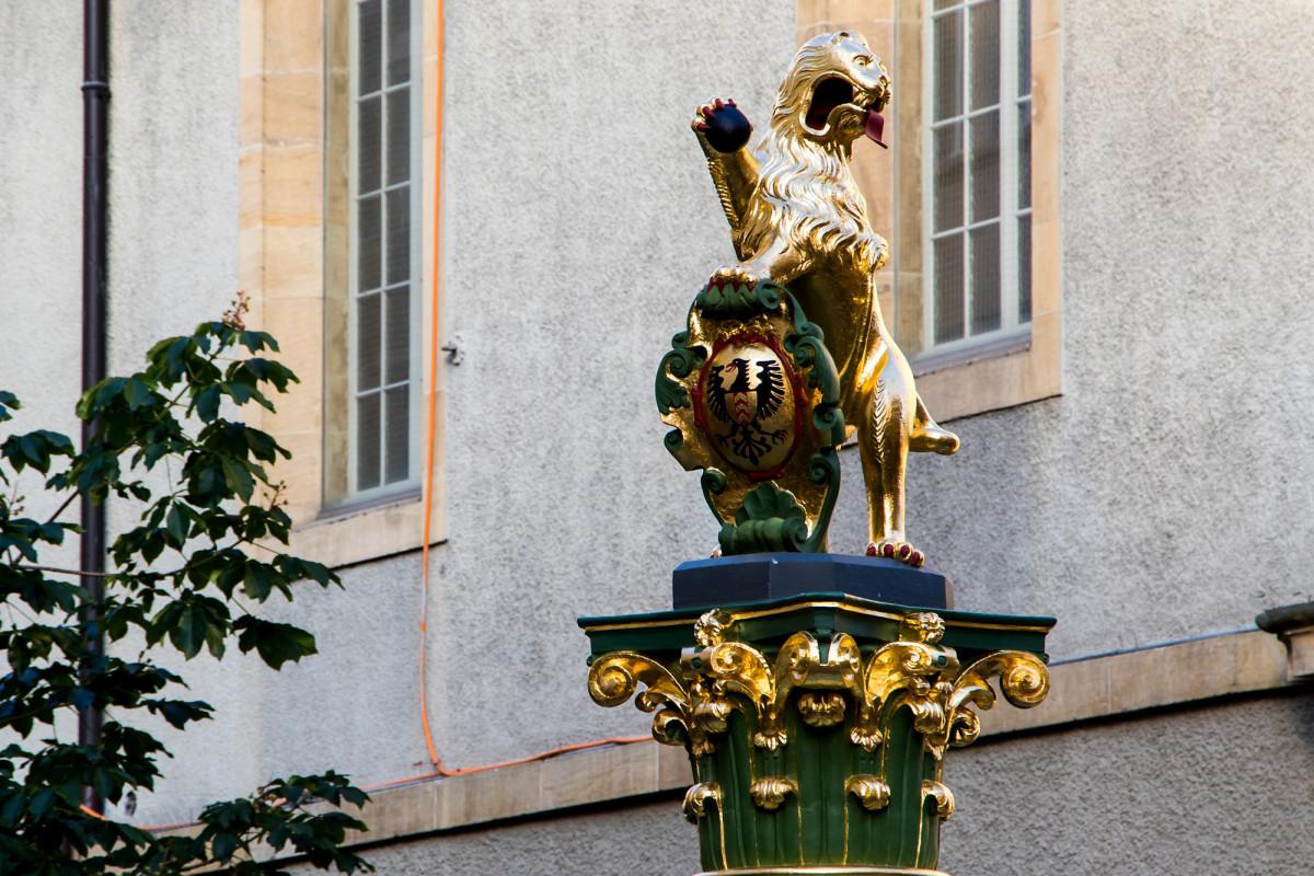 Die Fontaine Lion