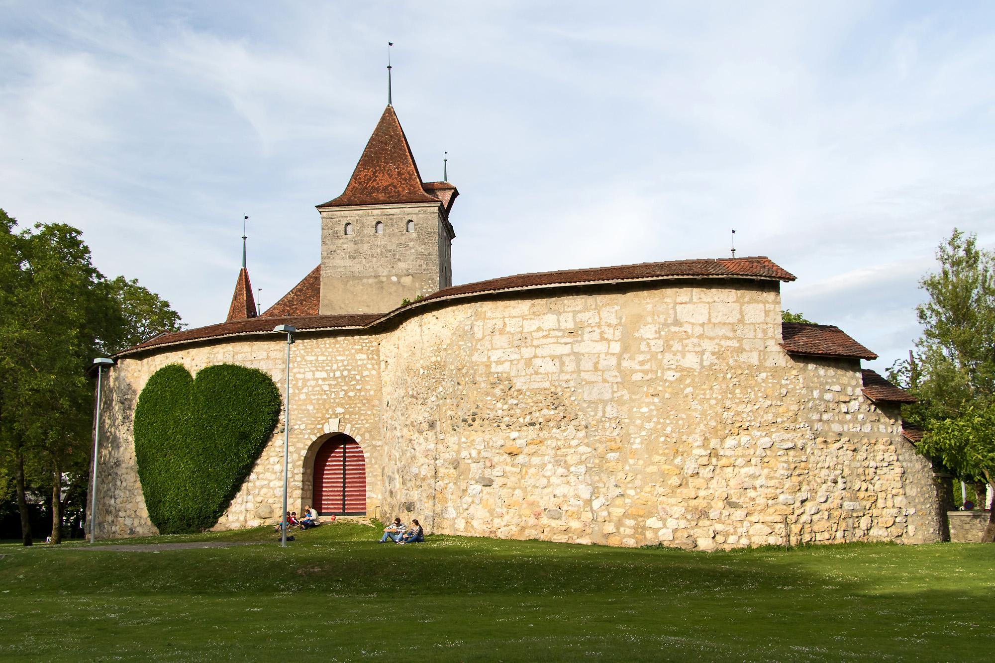 Schloss Nidau war der Sitz von 86 bernischen Landvögten in Biel; der heutige Bau geht auf die Jahre 1627-1636 zurück