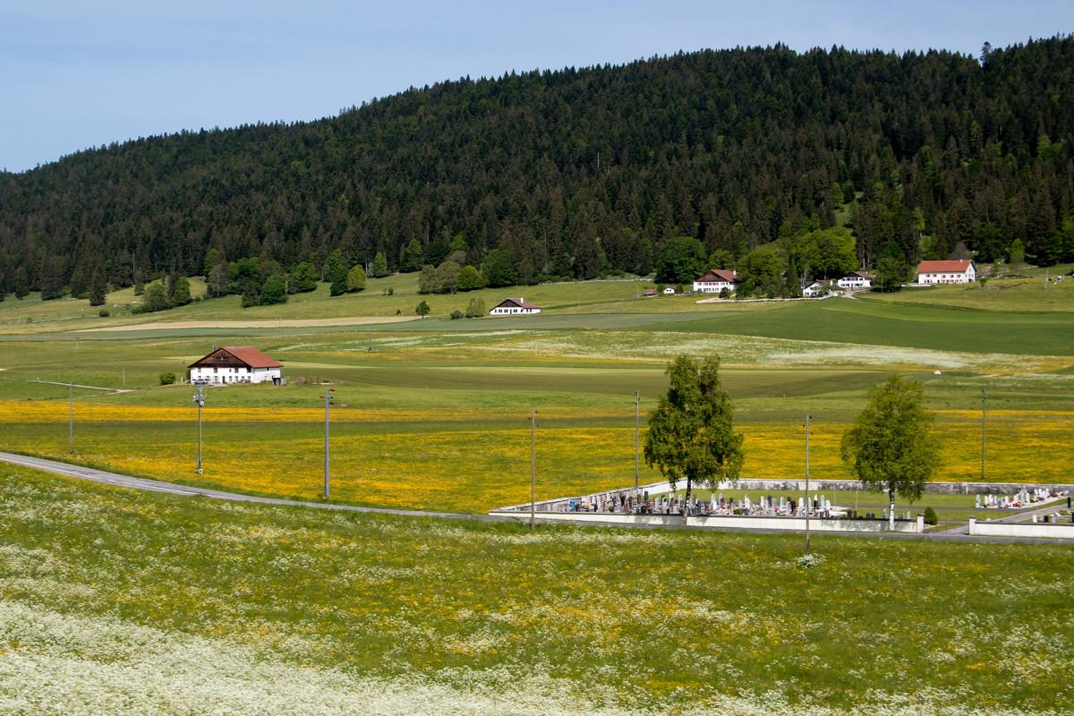 Ein letzter Blick auf das Vallée de la Brévine