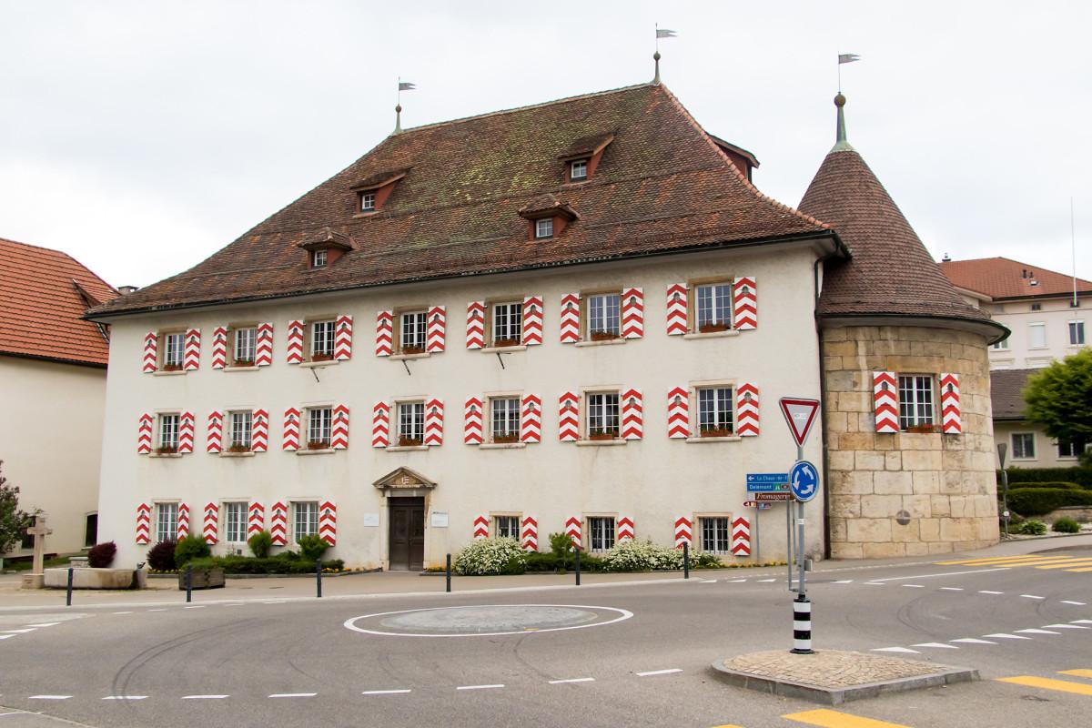 Schloss Saignelégier, JU