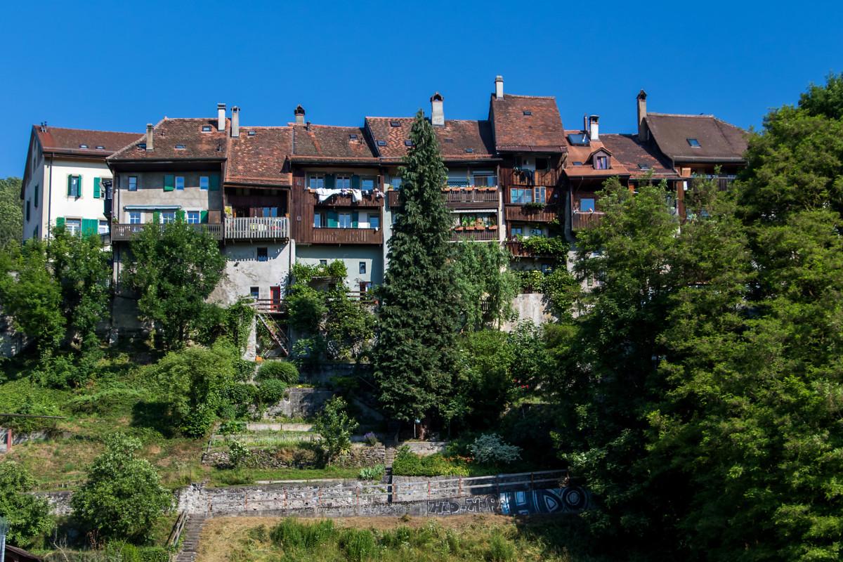 Moudons Oberstadt