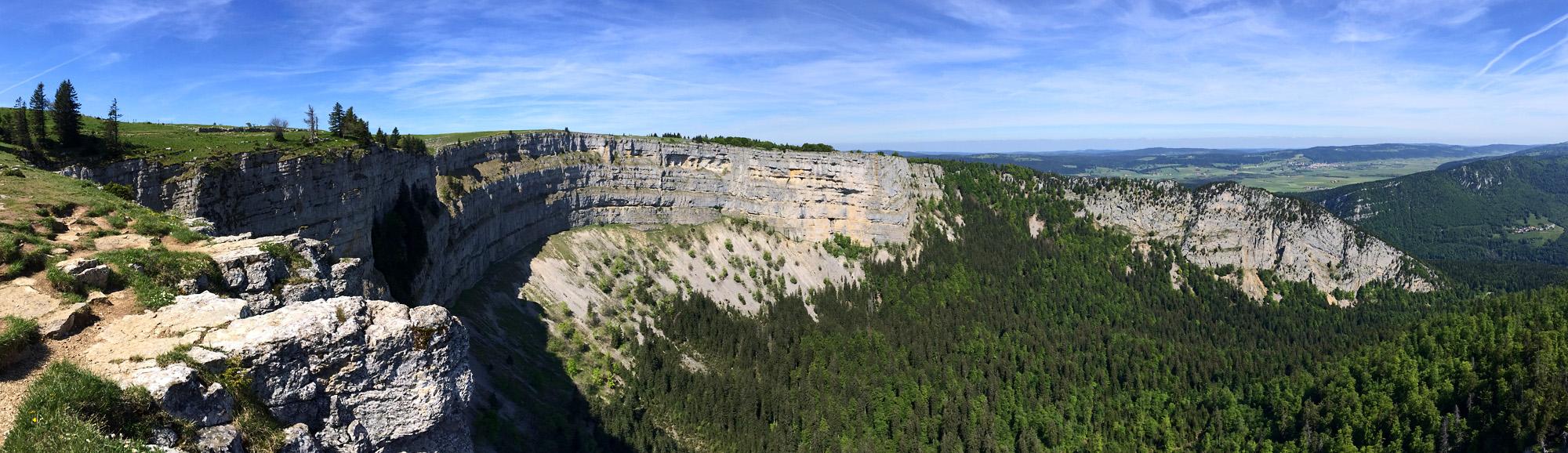 Panorama des Creux du Van