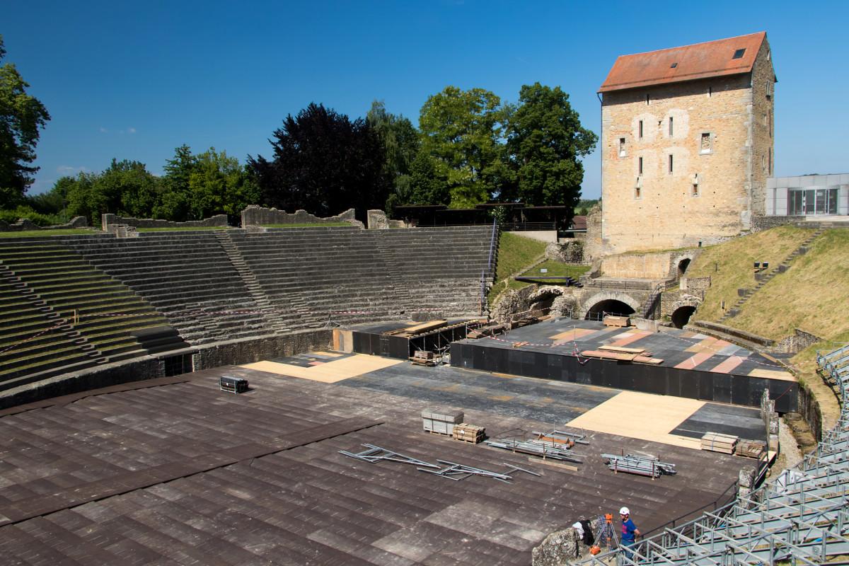 Das römische Amphitheater von Avenches