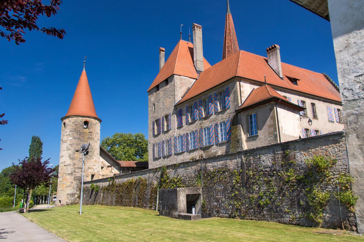 Schloss Avenches, VD