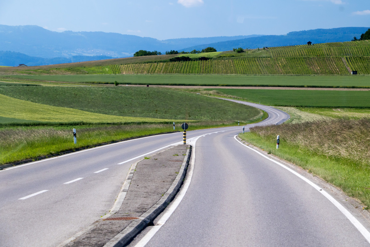 Die durchaus sehenswerte Strecke nach Cudrefin