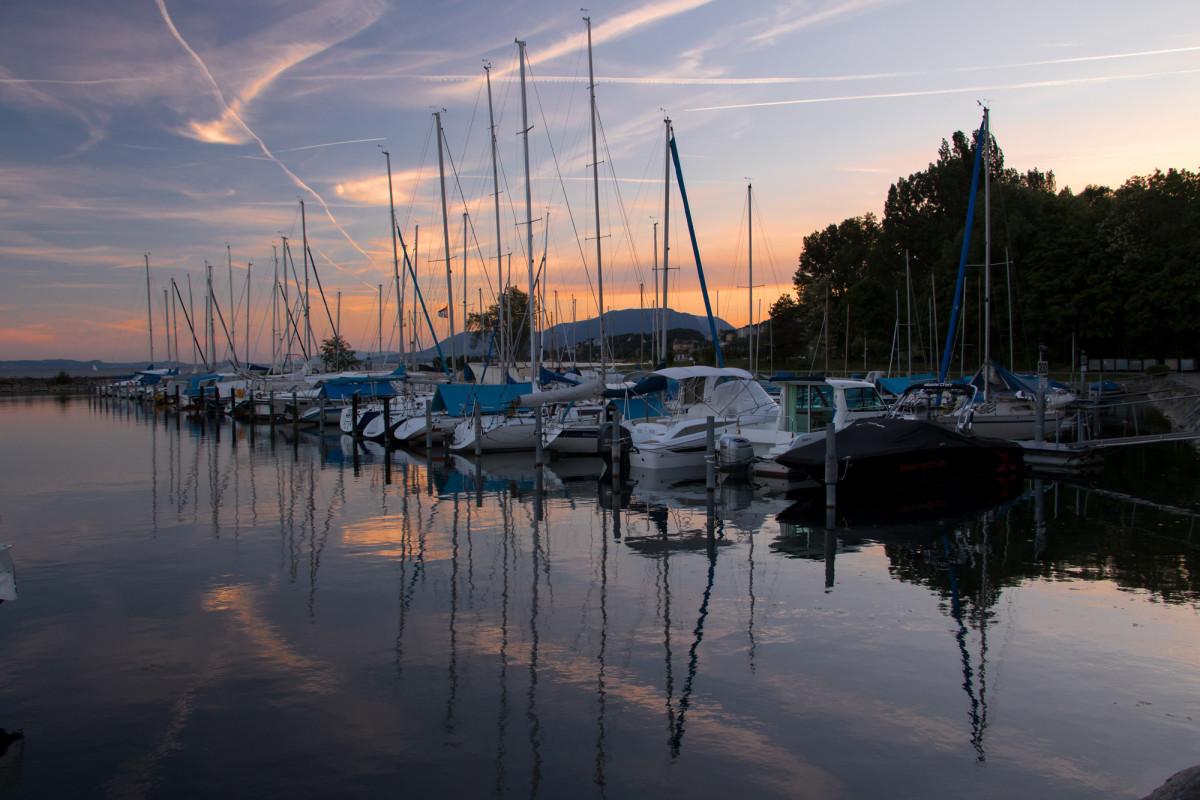 Dem Neuenburgersee entlang von Marin nach Neuchâtel