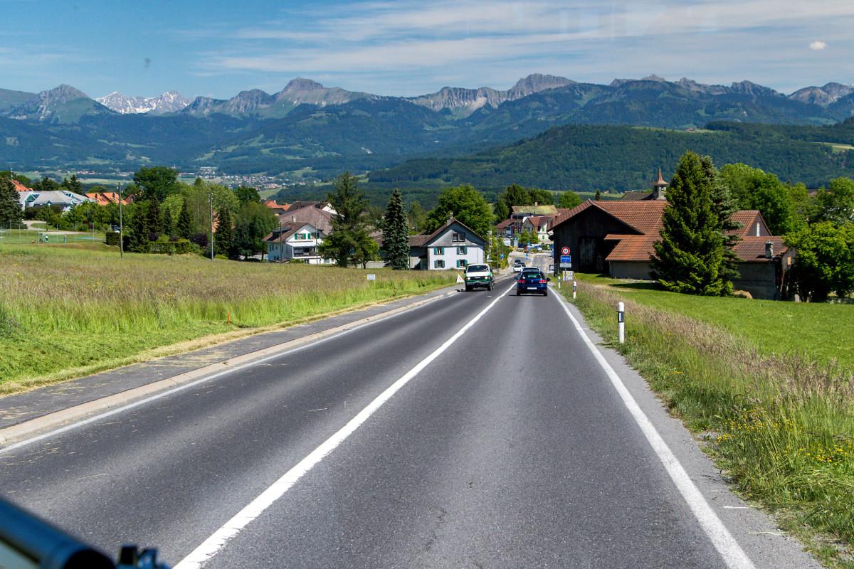 Unterwegs von Lausanne nach Servion