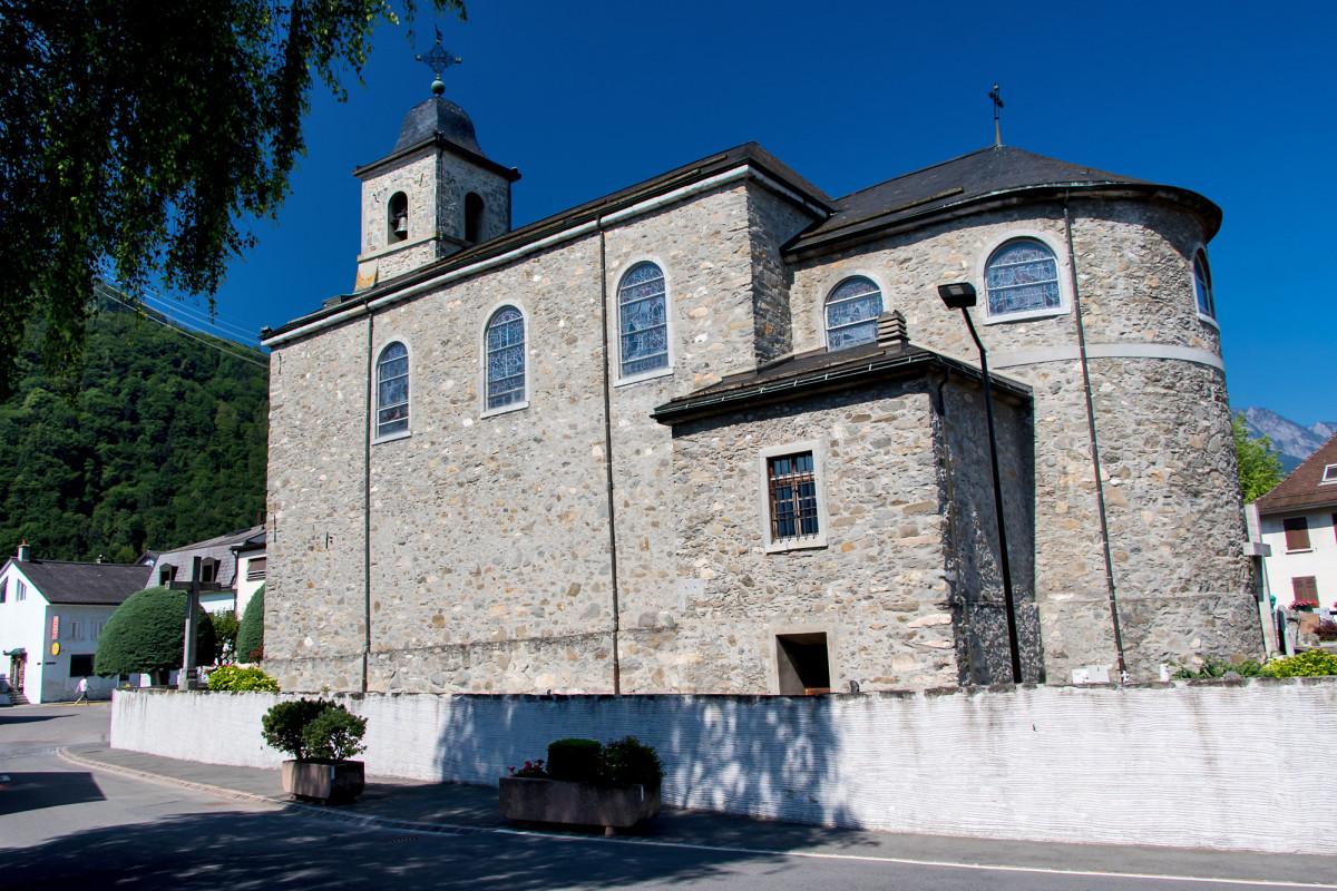 Massongex' schöne Kirche