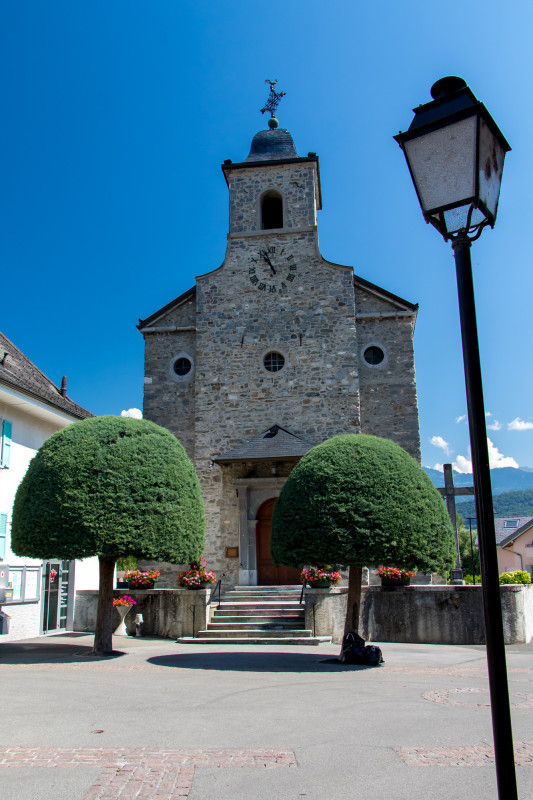 Kirche Massongex