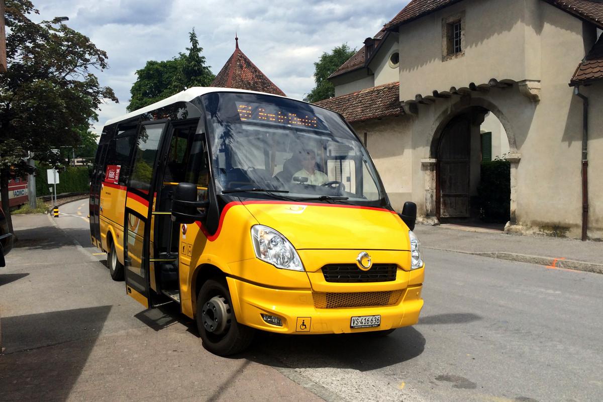 Dervorbildlich europäische Kleinbus :-)