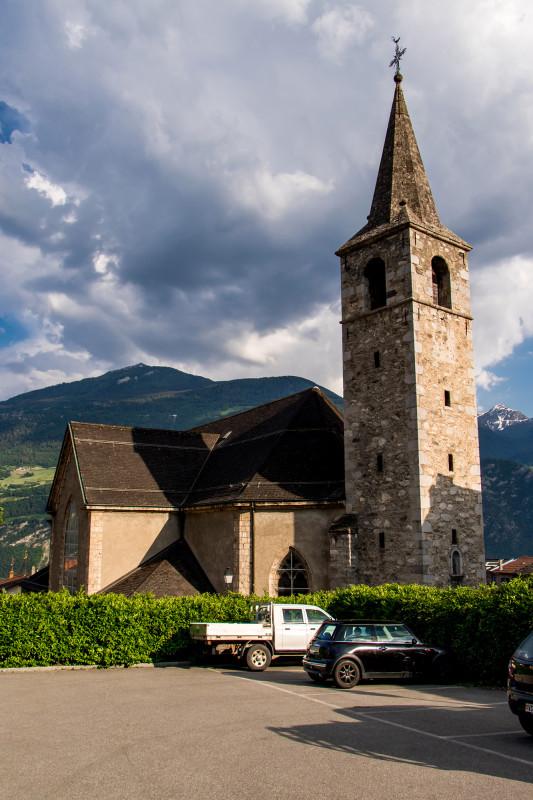 Die Kirche Saint-André von Chamoson