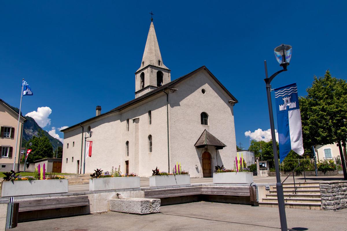 Impressionen aus dem Dorfzentrum von Evionnaz...