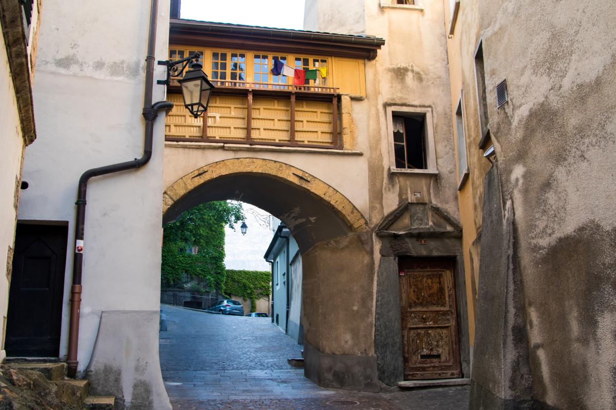 Ein Hauch von alt in Sions Altstadt