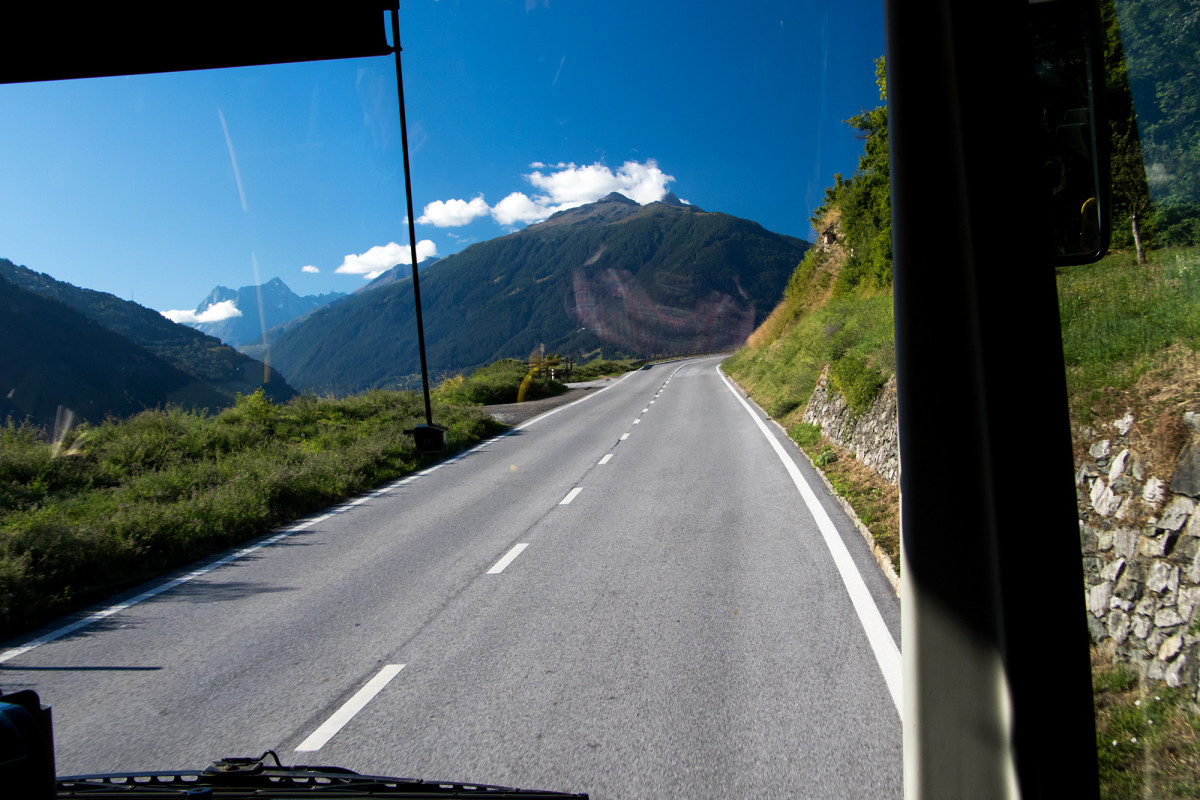 Unterwegs ins Val d'Hérens