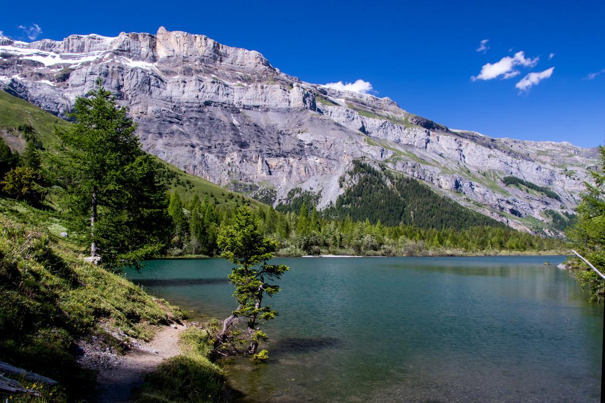 Was für ein wunderbarer Bergsee!
