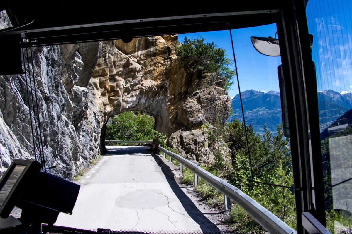 Neckisches Mini-Tunnel
