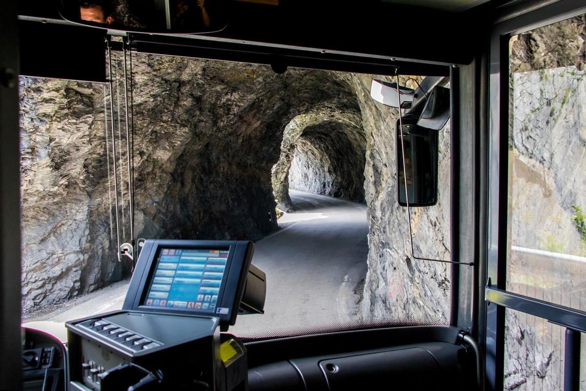 Für Tunnelliebhaber gemacht: die Derborence-Strecke