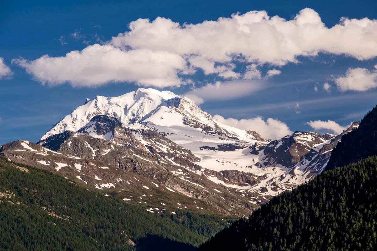 Das Fletschhorn, ein Fast-Viertausender