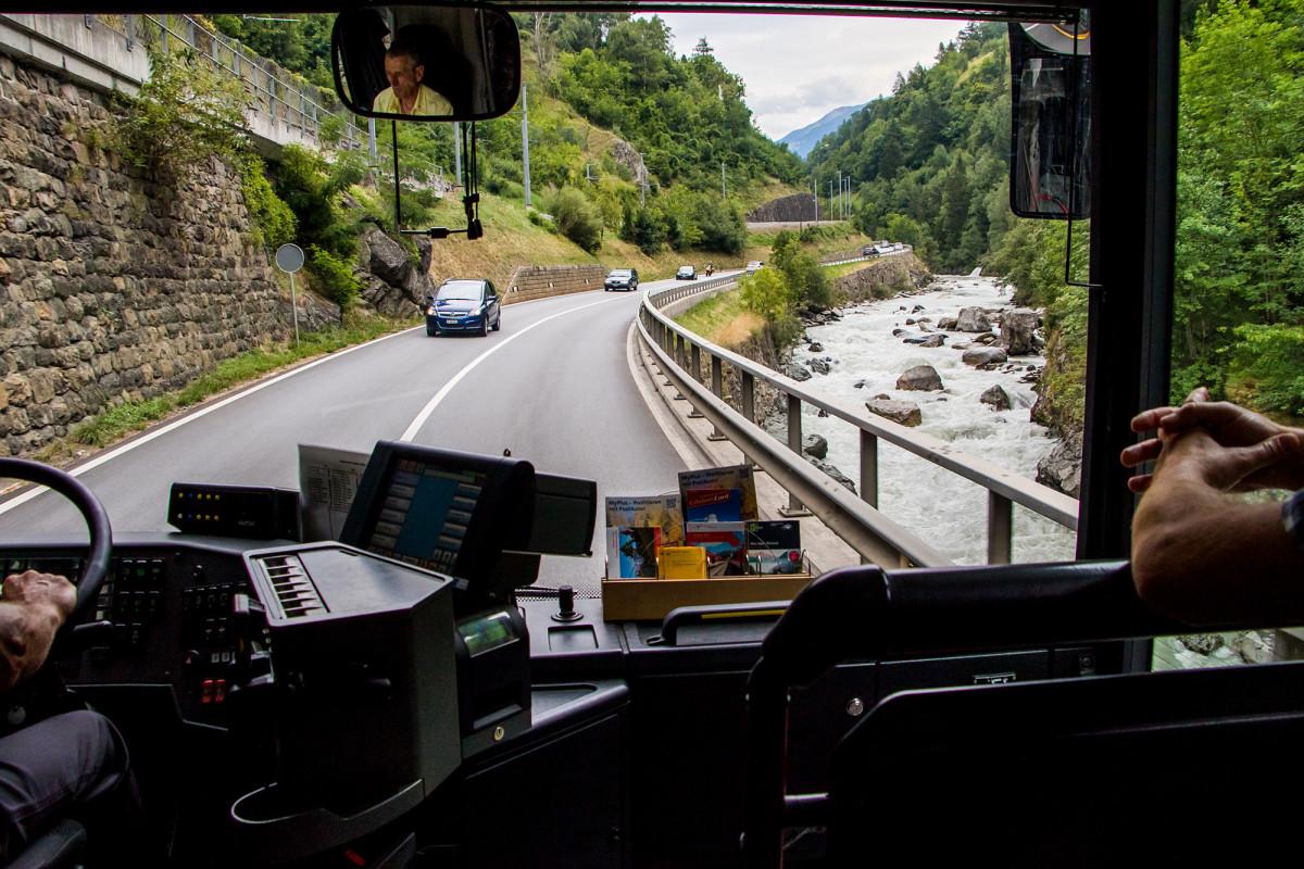 Unterwegs im oberen Rhonetal