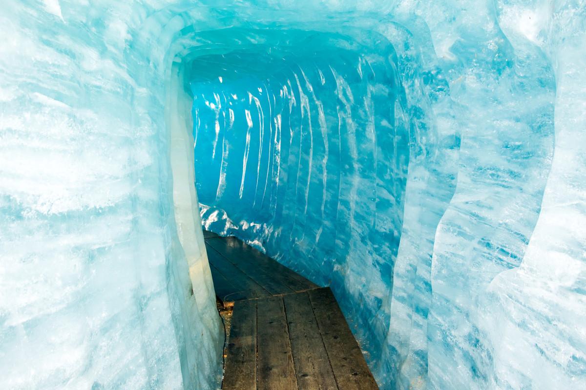 Gletscher-Durchquerung