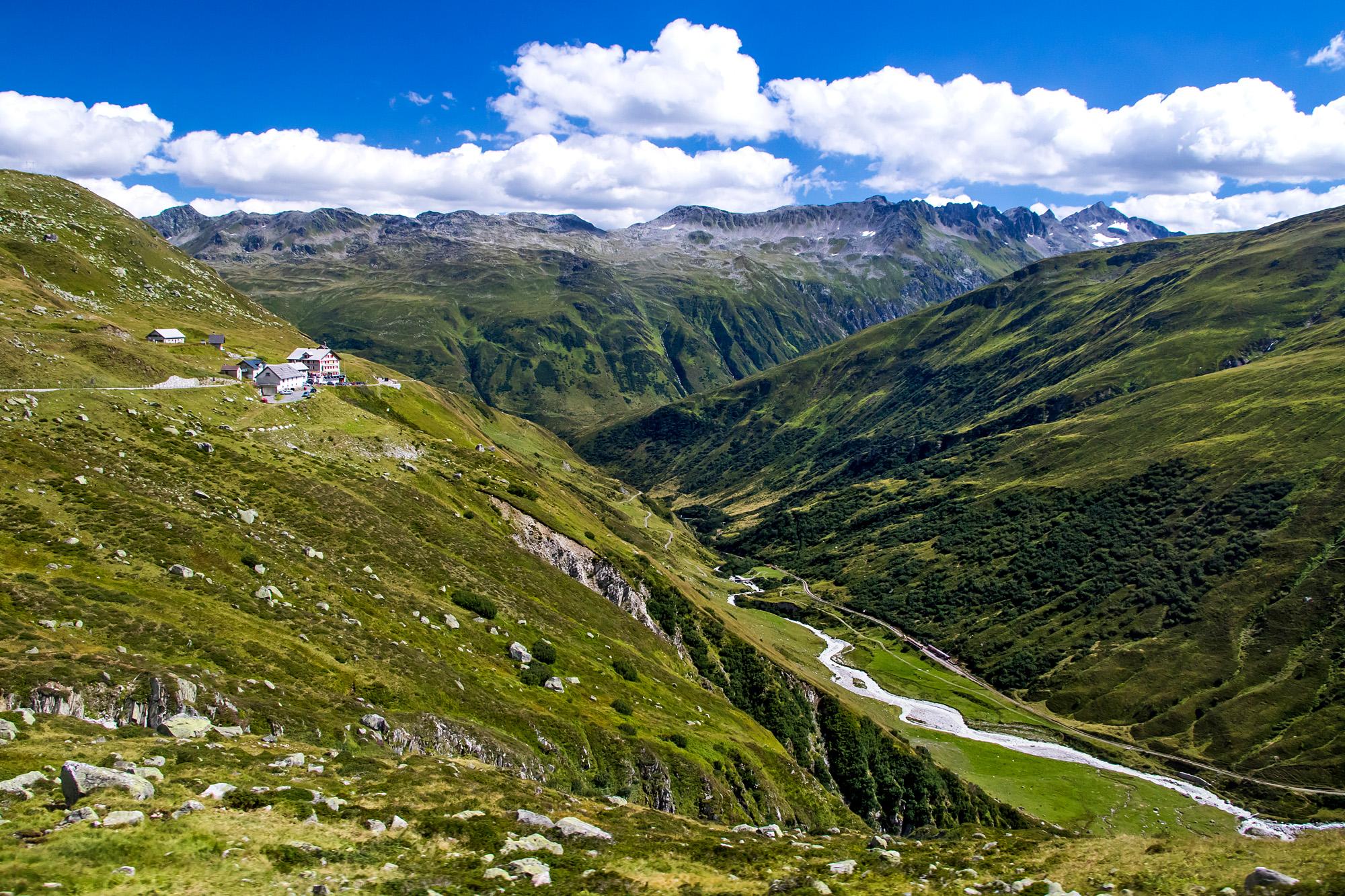 Auch hier zeigen sich schöne Landschaften!