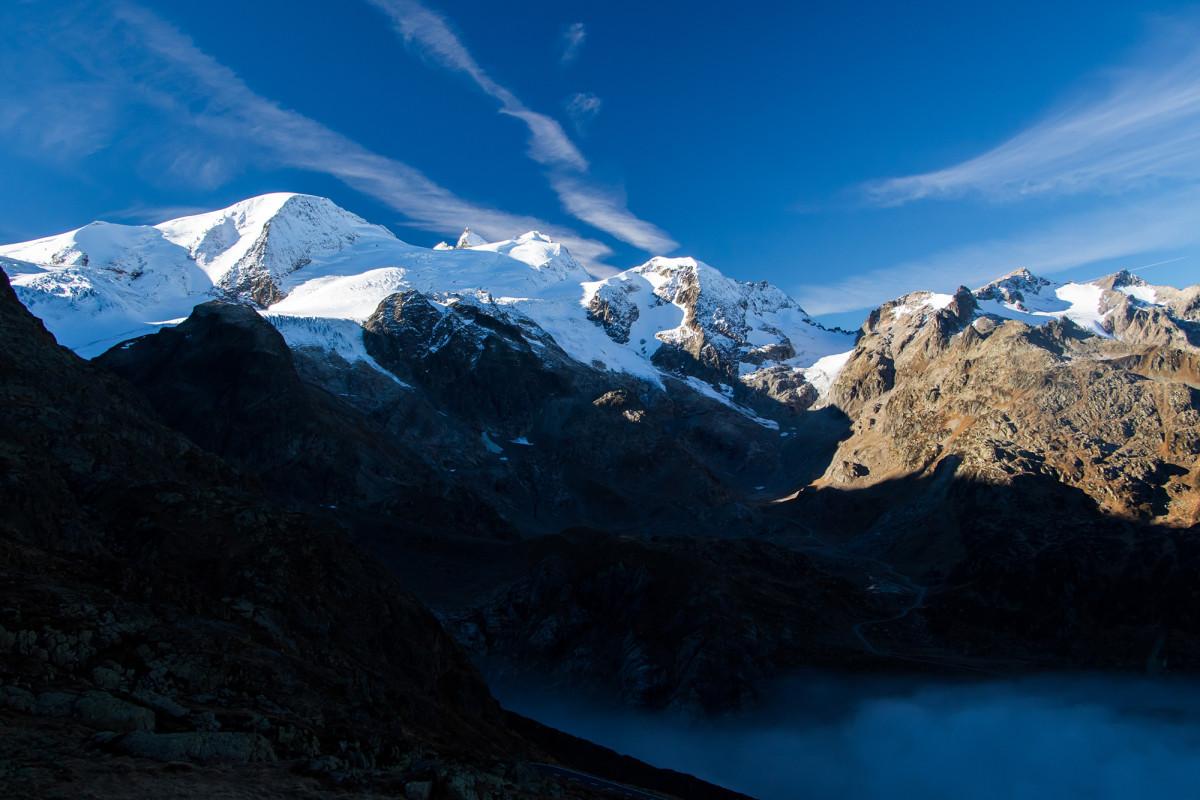 Steigletscher und Gwächtenhorn
