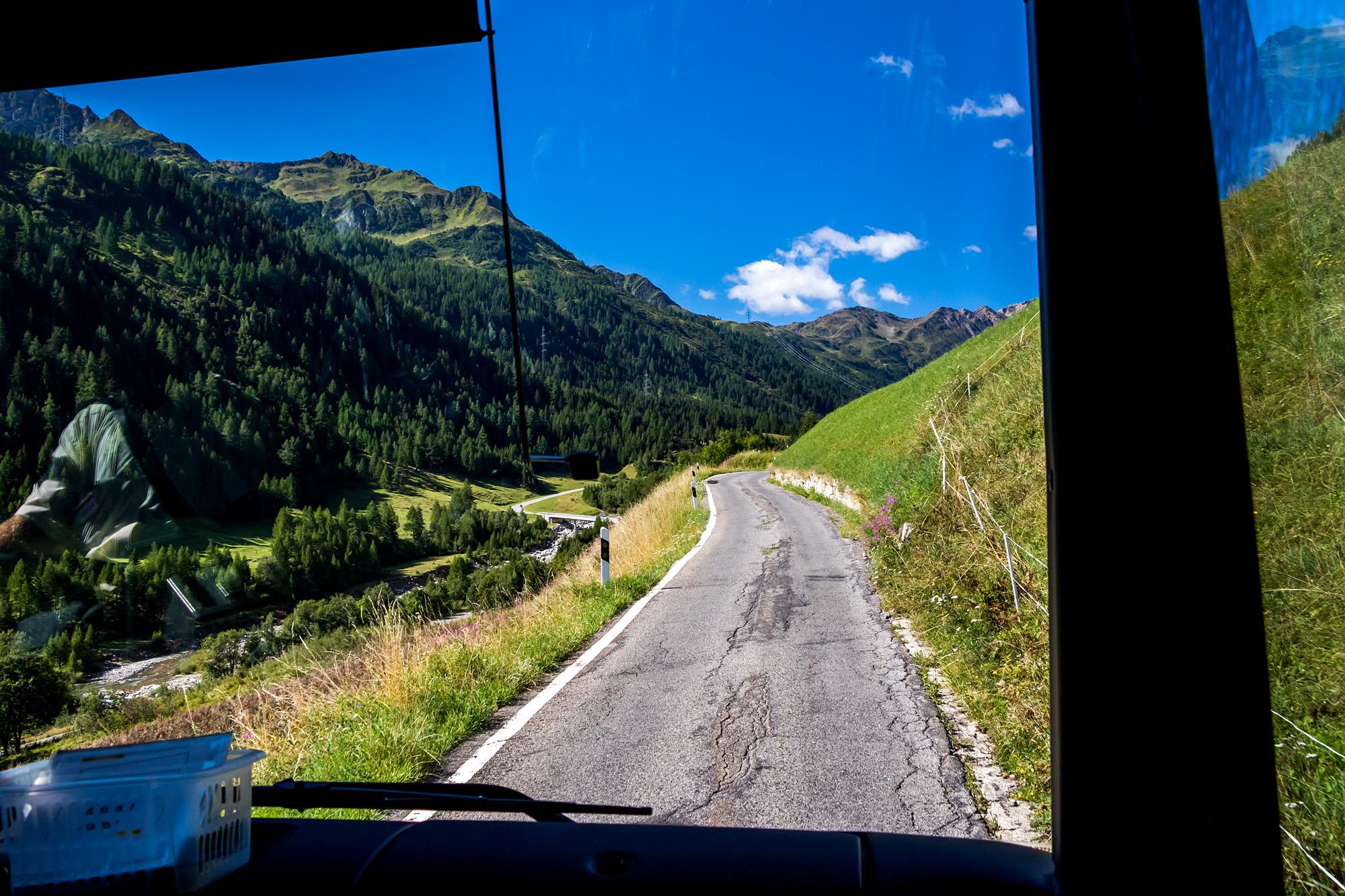 Umweg von Bedretto nach Ronco