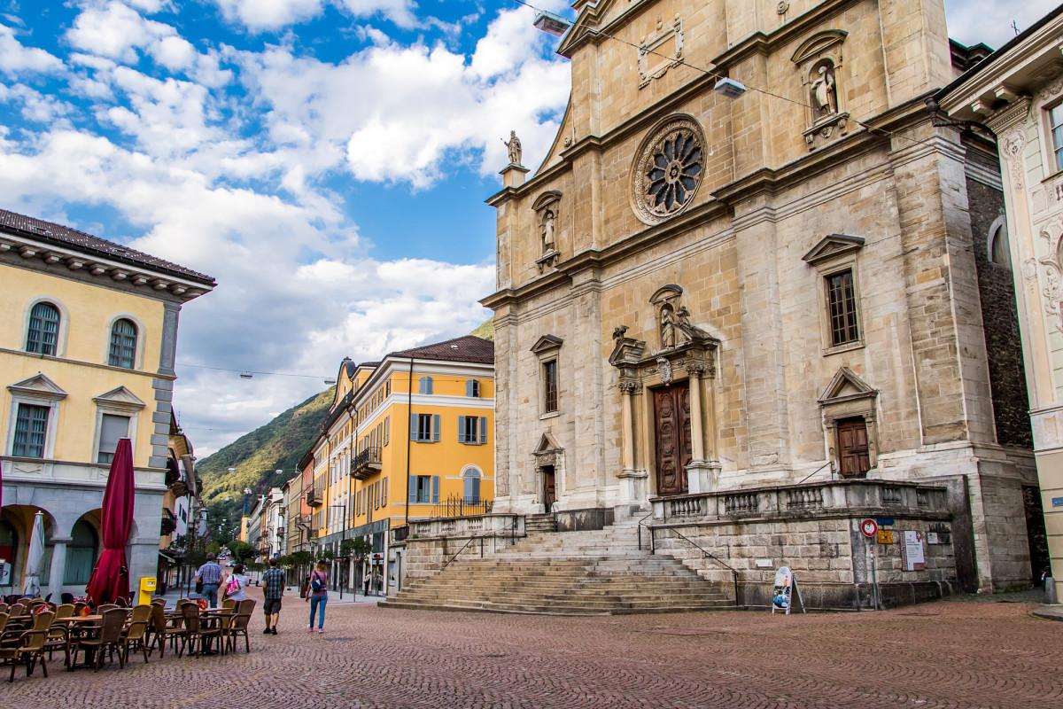 Südländisches Flair ist definitiv spürbar, auf der Piazza Collegiata!