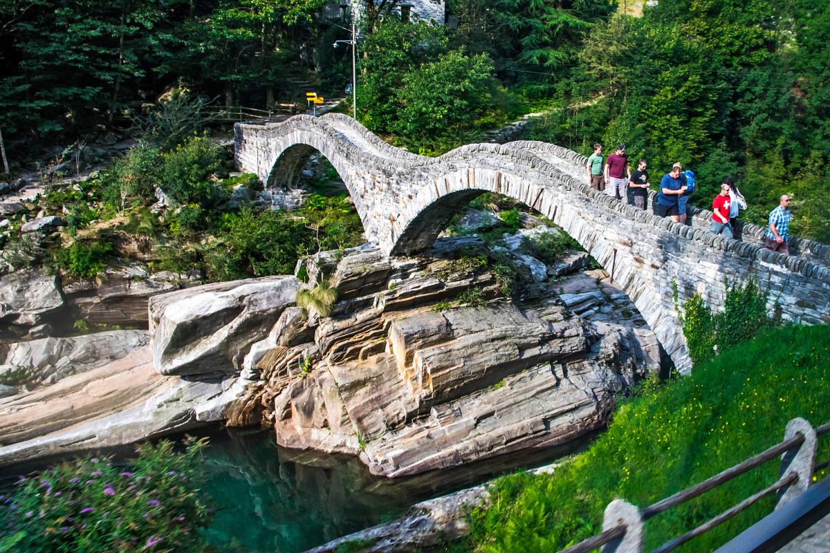 """Die """"Römerbrücke"""" ist bereits gut besucht"""