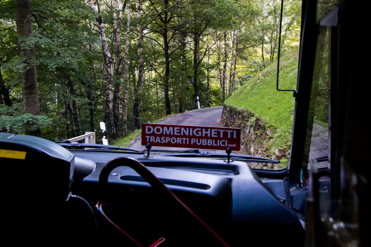 Die letzten Kilometer bis Indemini sind besonders anspruchsvoll zu fahren...