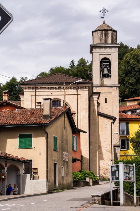 Novaggios Pfarrkirche San Siro von 1625