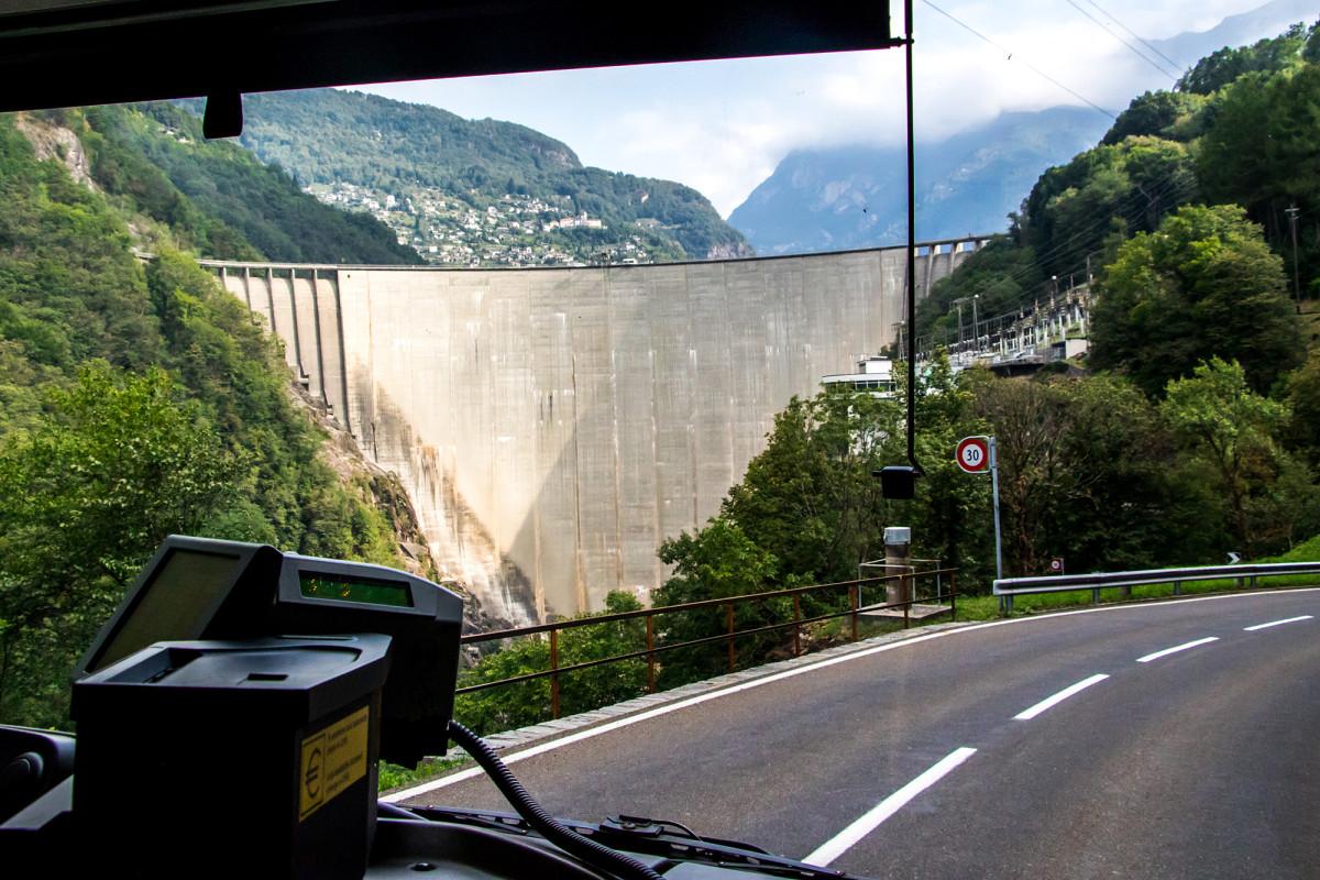 Eindrücklich: Die Verzasca-Staumauer