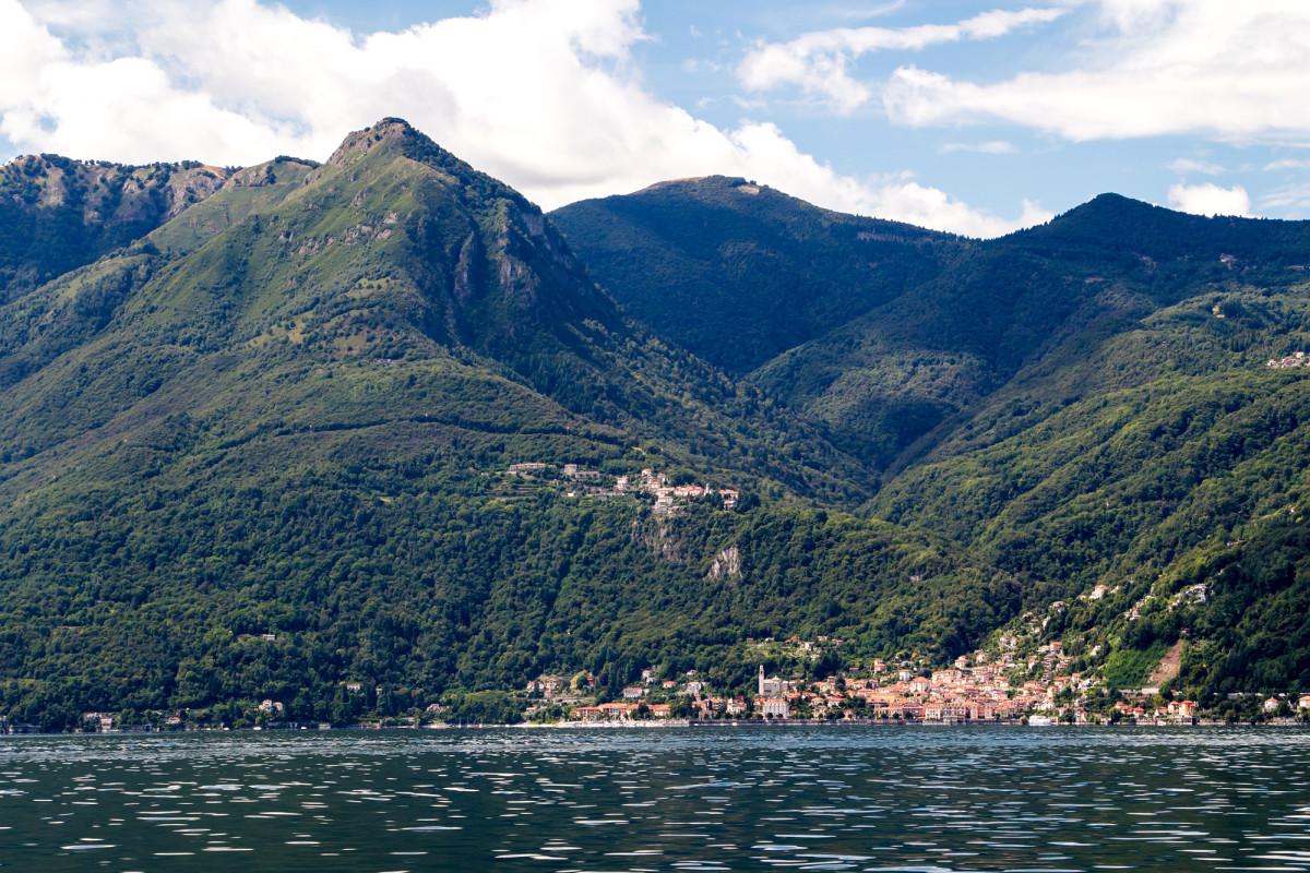 Cannero Riviera, gelegen im Piemont (IT)