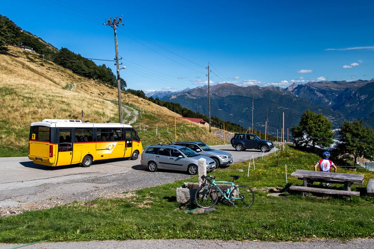 Ankunft auf der Alpe Neggia, 1395 m.ü.M....