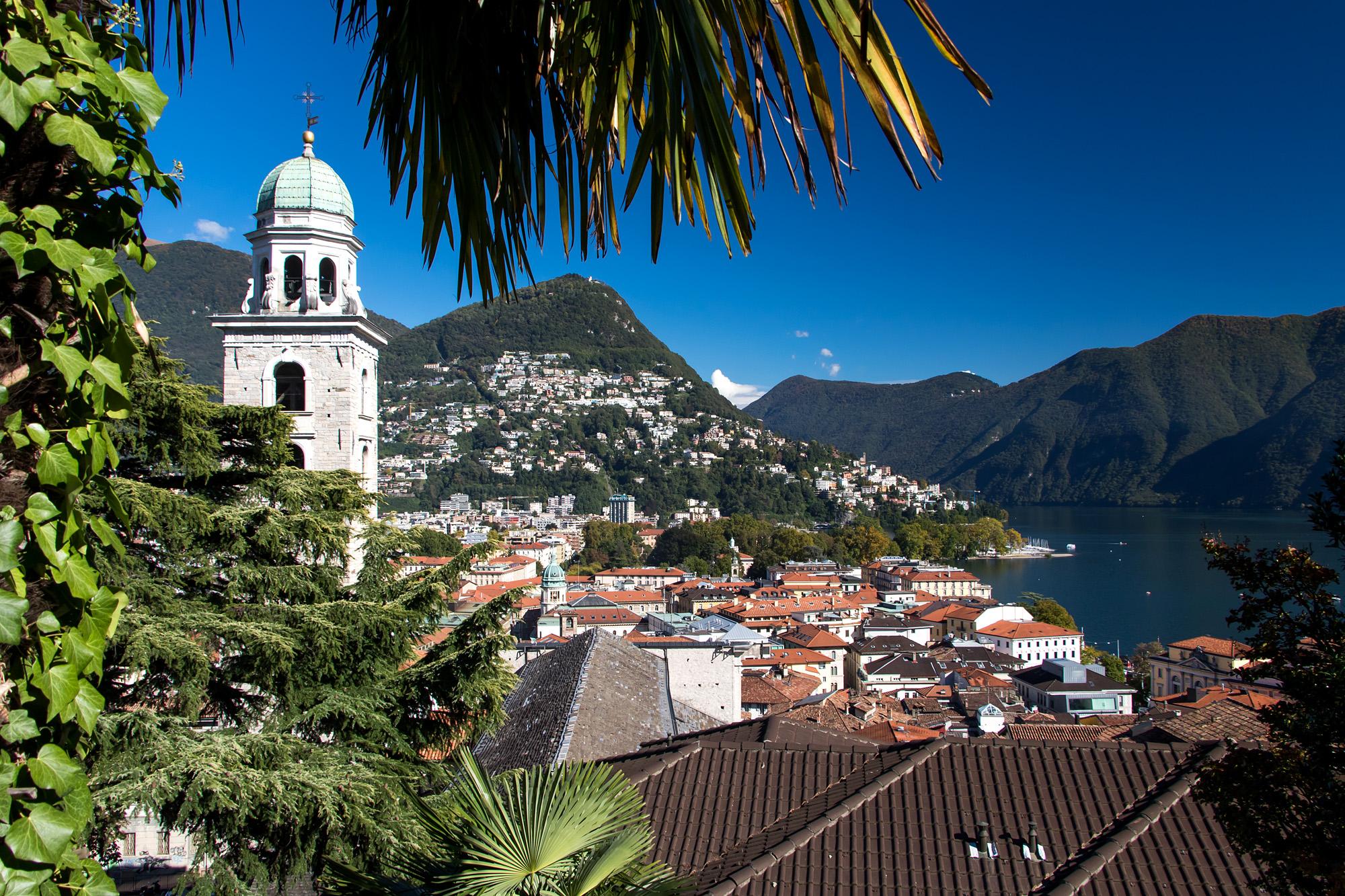 Lugano wie aus dem Bilderbuch!