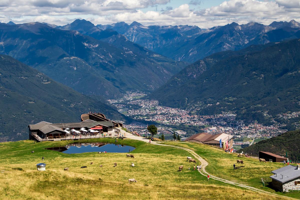 Freizeit-Zentrum auf der Alpe Foppa