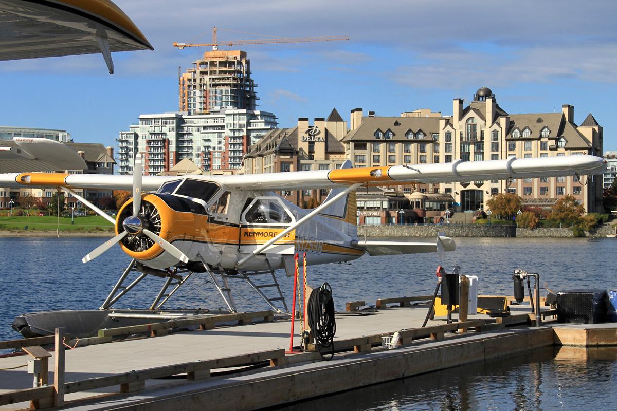 West Coast Puddle-Jumper Joyrides: PC-12, S-76, DHC-2